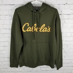 CABELA'S   kangaroo pocket pullover hoodie